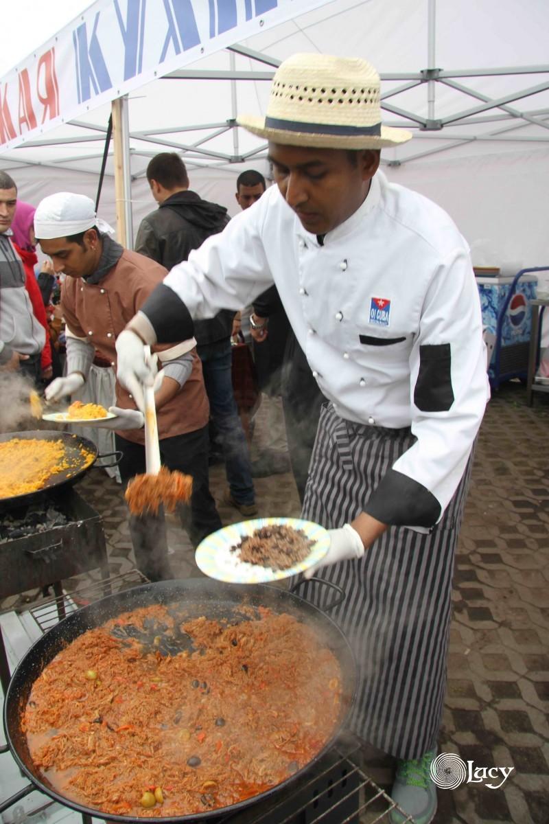 Кулинарный фестиваль национальной кухни в Питере 2016