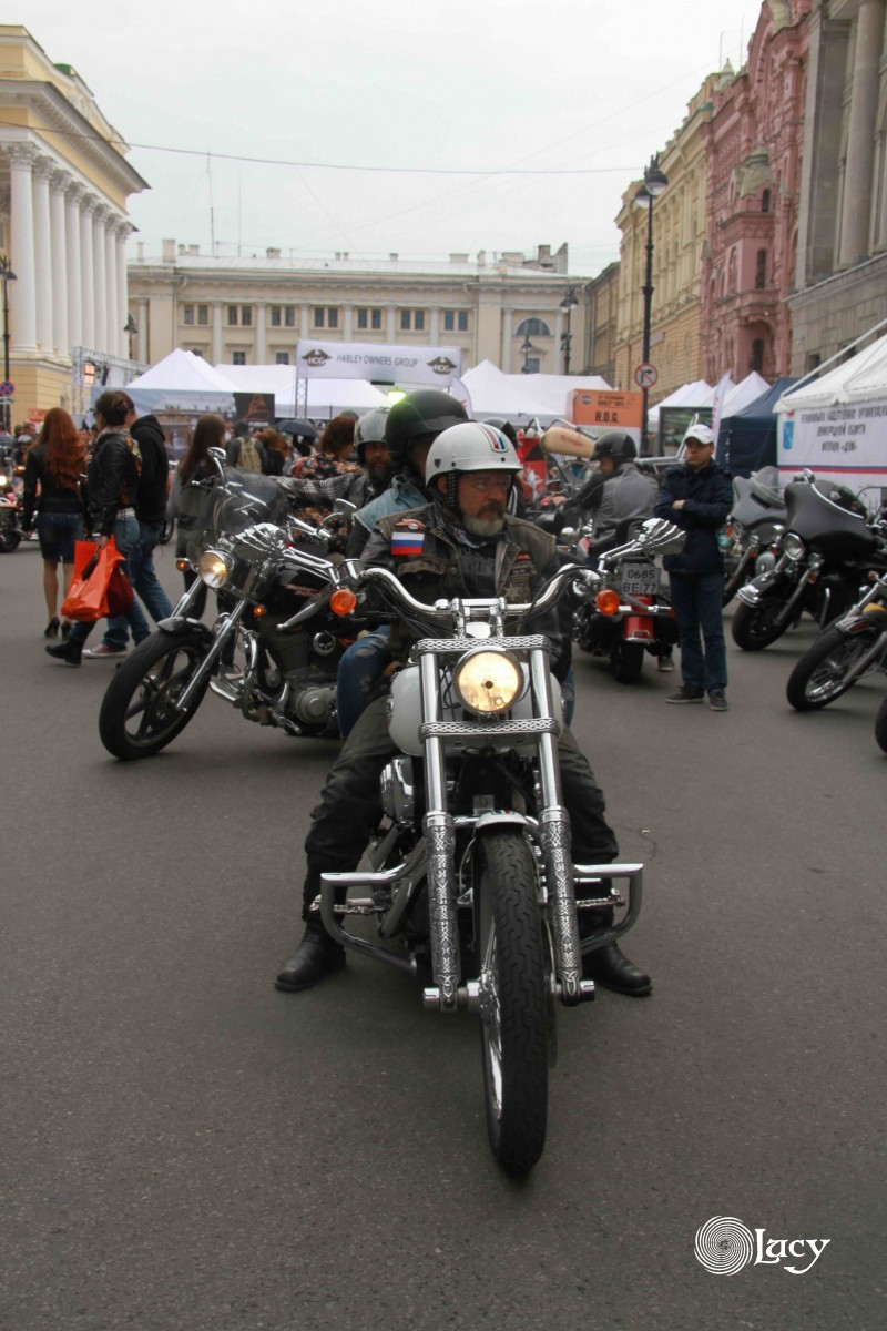 Мотофестиваль St. Petersburg Harley® Days