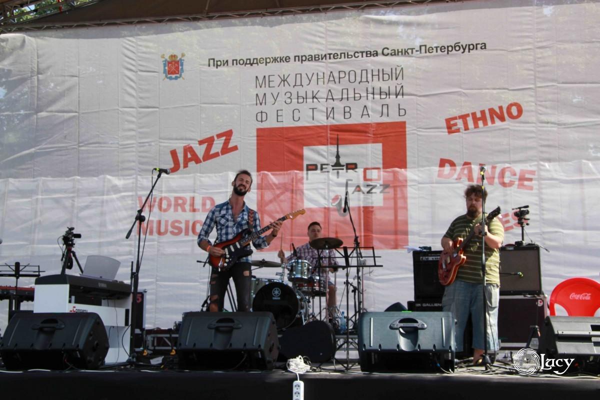 14 фестиваль Петроджаз в Петербурге