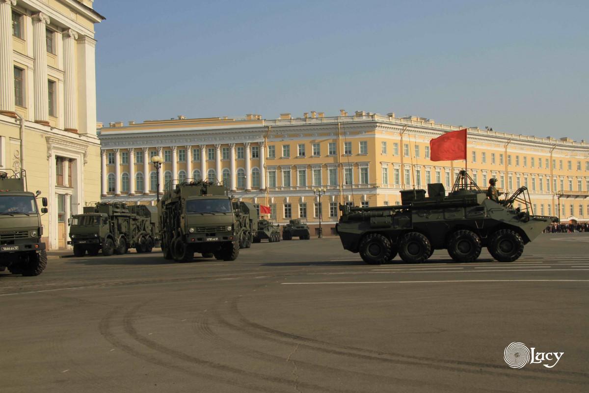 репетиция парада Победы в СПб