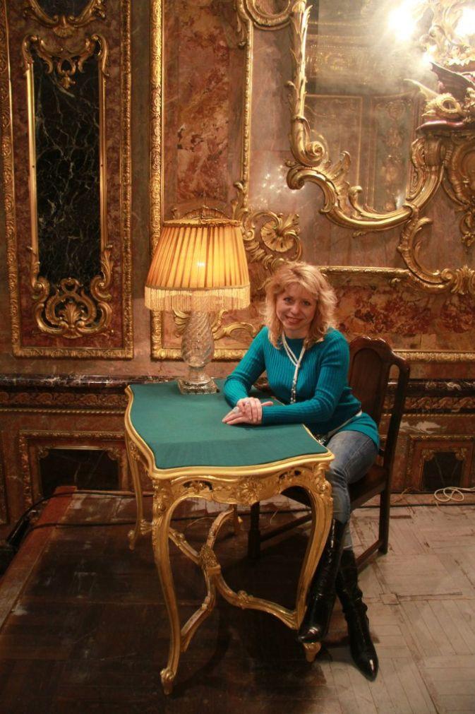 Фото в музейных декорациях от Людмилы Лыткиной
