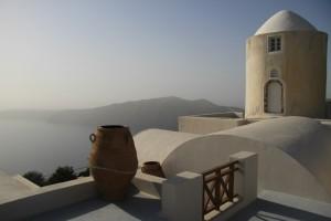 Остров Санторини и остров Иос